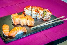 Sushi Saint Gély du Fesc chez Lady Sushi avec un grand choix de sushis à déguster sur place au restaurant, à emporter ou à livrer (® Lady Sushi)