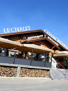 Le Chalet Chamoniard Lattes restaurant de fondues, raclettes et spécialités montagnardes avec une carte de salades et de grillades pour les beaux jours aux portes de Montpellier (® SAAM-fabrice chort)