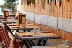 Restaurant terrasse Montpellier au Chalet Chamoniard à Lattes (® SAAM-fabrice chort)