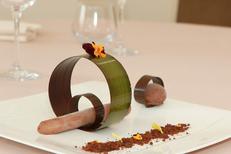 Le Clos des Oliviers de St Gély du Fesc présente un savoureux dessert chocolat (® NetWorld-Fabrice Chort)