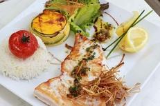 Le restaurant Le Delphis Lattes présente des assiettes gourmandes (® networld-fabrice Chort)