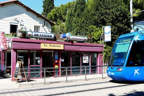 """Le Fontenoy Montpellier Restaurant Brasserie et sa cuisine """"fait maison"""" face à Saint Eloi (® SAAM-fabrice Chort)"""