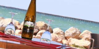 Le Marin Bouzigues restaurant de poissons et coquillages avec une vue superbe depuis la terrasse (® networld-fabrice Chort)