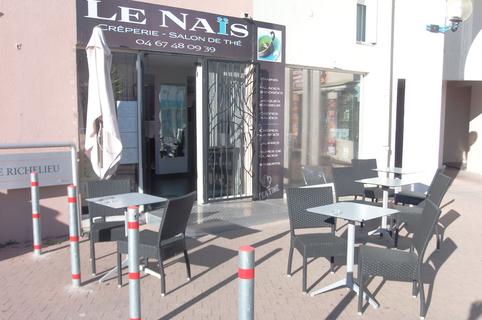 Le Naïs Frontignan Crêperie salon de thé et glacier qui propose aussi des plats du jour.(® le naïs)
