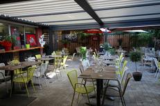Restaurant Mauguio le Patio et sa terrasse avec pergola bioclimatique (® Le Patio)