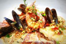 Le Petit Lézard Palavas propose des parilladas de poissons à la carte du restaurant (® networld-fabrice chort)