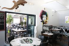 Restaurant Palavas Le Petit Lézard propose des tables en terrasse (® networld-fabrice chort)