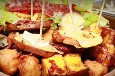 Belle assiette de tapas du bar à tapas Le Tapas au centre-ville de Montpellier (crédits photos : NetWorld-Fabrice Chort)