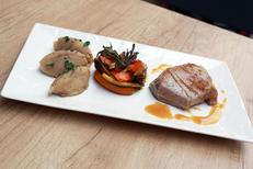 Le Vieux Four Montpellier est un restaurant fait maison en centre-ville. Ici le pavé de veau des Pyrénées (® SAAM-fabrice Chort)