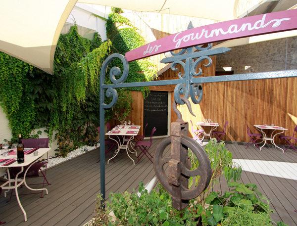Le restaurant les Gourmands Montpellier et sa belle terrasse proche du