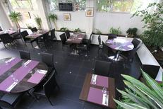Les Gourmands Montpellier Restaurant vous accueille dans des salles lumineuses au centre-ville sur l'avenue Saint Lazare (® networld-Fabrice Chort)
