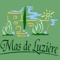 Logo du restaurant gastronomique du Mas de Luzière de St André de Buèges