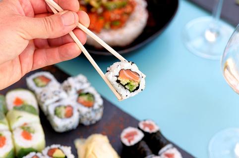 Morin Sushi Lattes est un restaurant japonais proposant des sushis et spécialités japonaises à déguster sur place, à emporter ou avec livraison.(® SAAM fabrice Chort)
