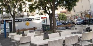 Pizzeria Chez Vincent Montpellier restaurant italien dans le quartier des Beaux Arts  (® SAAM-sabrina boirel)