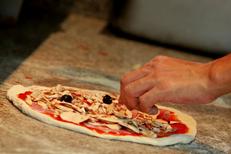 Restaurant italien Montpellier la Pizzeria Chez Vincent dans le quartier des Beaux Arts (® networld-fabrice Chort)