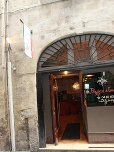 Pizzeria du Palais Montpellier Restaurant italien de pizzas, grillades et spécialités italiennes au centre-ville (® NetWorld-Fabrice Chort)