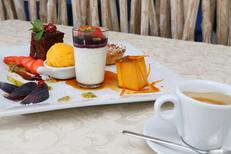 Porto Mar Restaurant Frontignan propose un café gourmand à la carte et dans le menu (® SAAM-fabrice Chort)