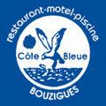 Logo de l'hôtel-restaurant La Côte Bleue de Bouzigues.