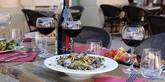 Le restaurant Meoli à Castelnau-le-Lez propose une cuisine sicilienne et italienne à base de produits frais. (® SAAM fabrice CHORT)