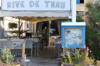 Rive de Thau restaurant Bouzigues au bord de l'Etang de Thau (® networld-Fabrice Chort)