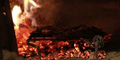 Grillades au feu de bois Montpellier dans restaurant (® networld-fabrice Chort)