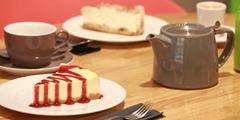 Salon de thé Montpellier avec boissons chaudes ou froides et gourmandises ou gâteaux (® networld-fabrice chort)