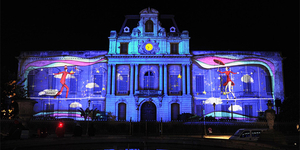Découvrez la Fête des Lumières Montpellier 2017 avec Cœur de Ville en Lumières du 30 novembre au 2 décembre et son programme d'illuminations sur les monuments du centre-ville de Montpellier.(® CCI Hérault)