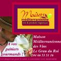 Maison méditerranéenne des vins annonce Fest'Hiver du 15 au 23 décembre au Grau du Roi