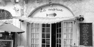 La Morue Montpellier restaurant de poissons et fruits de mer au centre-ville (® NetWorld-Fabrice Chort)